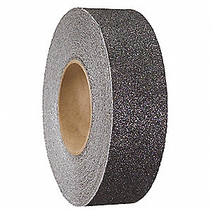 "60 ft. x 2"" Aluminum Oxide Conformable Antislip Tape, Black"