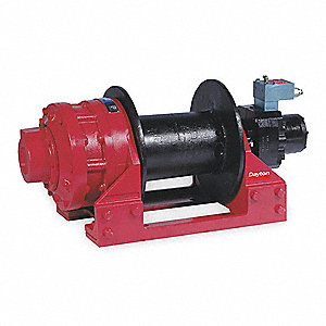 Bi-Directional Lever Hydraulic Winch with 25,000 lb. 1st Layer Load Capacity