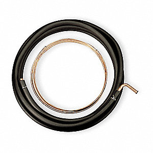 50' Copper Roll Refrigerant Line Set