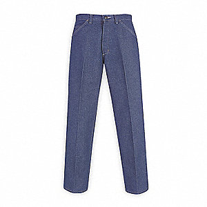 "Blue Pants, Excel FR , Fits Waist Size: 42-3/8"", 30"" Inseam, 20.7 cal./cm2 ATPV Rating"