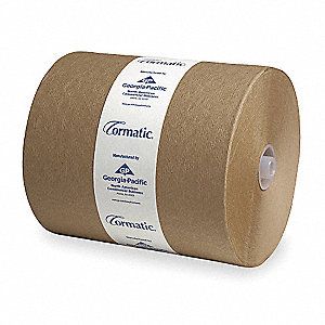 Cormatic® 700 ft. Hardwound Paper Towel Roll, Brown, 6PK