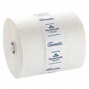 Cormatic® 700 ft. Hardwound Paper Towel Roll, White, 6PK