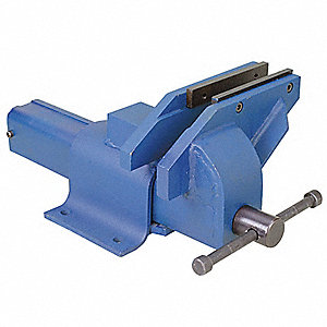 OFFSET BENCH VISE,UTILITY,4 IN