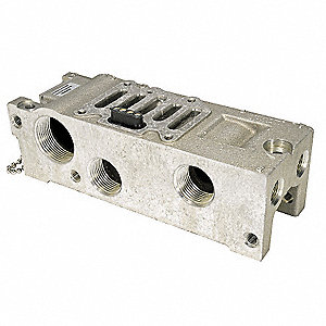 Solenoid Valve Manifold For Use With: 3FEW1, 3FEW3, 3FEV9, 3FEW7, 3FEX1, 3FEX8, 3FEX5, 3FEX3, 3FEY1;
