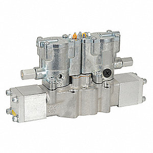 "3/8"" 24VDC, 4-Way/3-PositionSolenoid Air Control Valve"