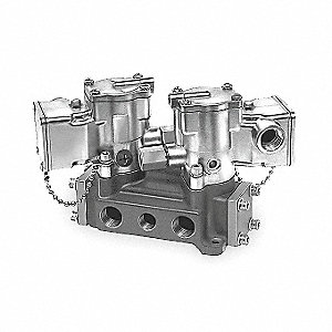 "1"" 120VAC, 4-Way/3-PositionSolenoid Air Control Valve"