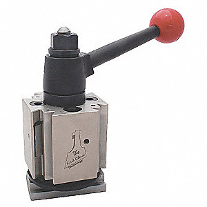 "Tool Post,  QUADRA®, 4-Station,  Series QITP30N,  13 to 15 Swing (In.),  5/8 to 1"" Capacity"