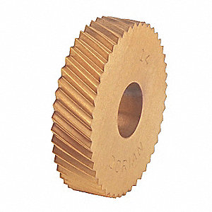 Knurl Wheel, D Series, RH DIAG, 1/2, 25 TPI