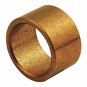 Bronze SAE 841 Metric Sleeve Bearing with 14mm Inside Dia. and 18mm Outside Dia.