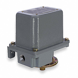 Diaphragm Pressure Switch, Differential: 9 to 35 psi, Range: 3 to 150 psi, NEMA Rating 1