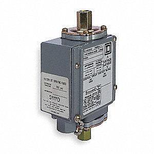 Diaphragm Pressure Switch, Differential: 0.5 to 36 psi, Range: 0 to 175 psi, NEMA Rating 1