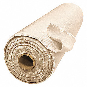 Silica Dioxide Welding Blanket Roll, Height: 3 ft., Width: 150 ft., Tan