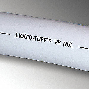 Liquid-Tight Conduit,1/2 In x 100ft,Gray