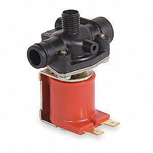 Solenoid Valve, 24VAC, Closed Body For Use With Wash Fountains