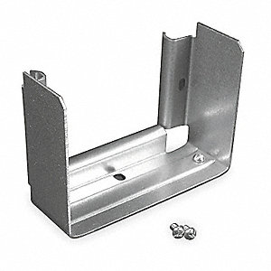 Steel Converter Clip For Use With 6000 Raceway, Gray