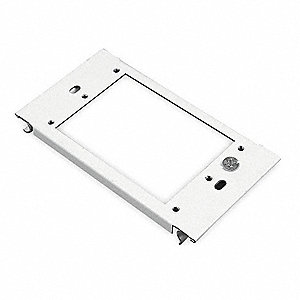 Steel Device Plate For Use With 6000 Raceway, Gray