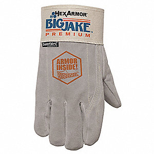Uncoated Cut Resistant Gloves, ANSI/ISEA Cut Level 5, High-Performance Polyethylene/SuperFabric® Lin