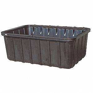 Containment Sump with Drain,Black,275gal
