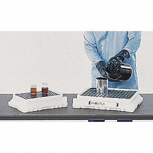 Containment Utility Tray,12 In. W