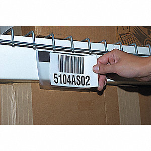 "Vinyl Label Holder, Clear, 7""L x 5""W, 25 PK"