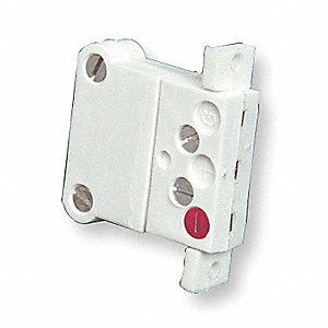 Panel Jack, White, Thermocouple Type:  Cu, Plug or Connector Type: Miniature