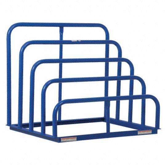 starter vertical sheet storage rack decking material none no of shelves 4