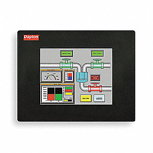 Touch Panel,6In TFT Color/Ether,75000 Hr