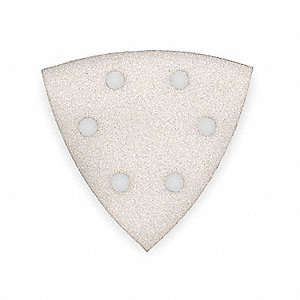 Triangle Vacuum Sanding Sheet, Medium Grade, 60 Grit