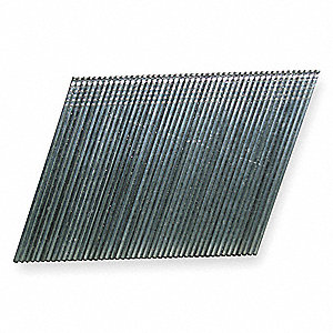 Angled Finish Nail,15ga,1-1/2 In,PK4000