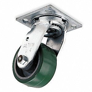 "4"" Plate Caster, 700 lb. Load Rating"