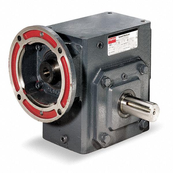 Dayton standard cast iron c face speed reducer single for Dayton gear motor catalog