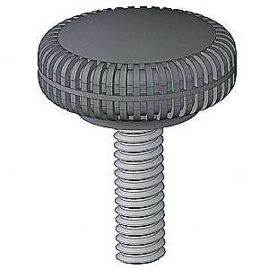 Knurled Knob,  5/16-18 Thread Size (In.)