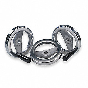 TWO SPOKE WHL,REVOLVING HANDLE,4.92