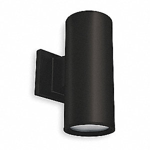 Cylinder Light,Black,LED,7.5 Watts