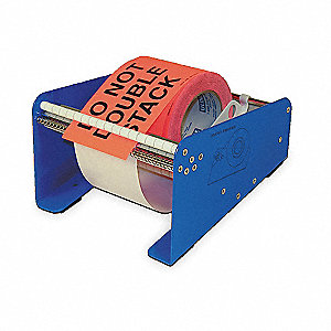 Label Dispenser, Metal, Varies - Blue, Gray, White