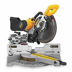 "10"" Sliding Compound Miter Saw, Double Bevel, 4000 No Load RPM, 15.0 Amps"