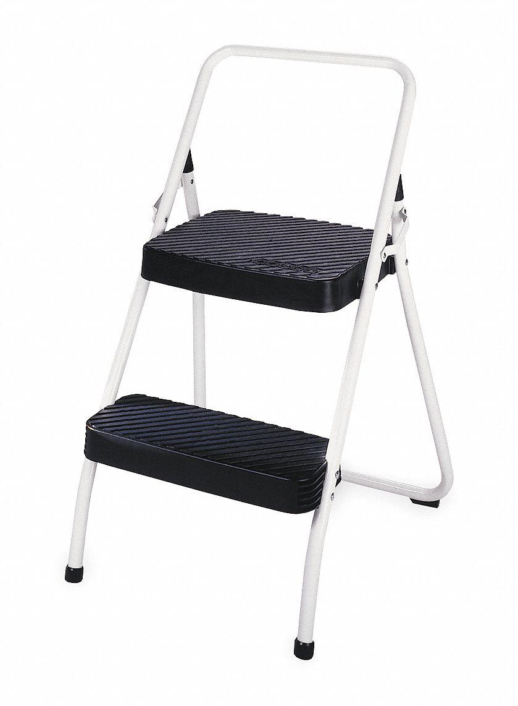 Outstanding Cosco Plastic Steel Folding Step 25 Overall Height 225 Lb Uwap Interior Chair Design Uwaporg