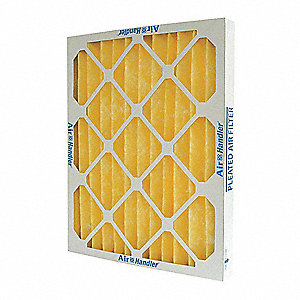 8x16x1 Synthetic Pleated Air Filter with MERV 11