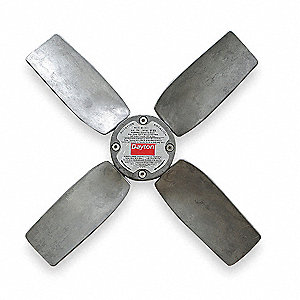 Propeller,24 In,3/4 Bore,5300 CFM