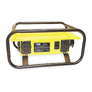 Power Distribution Box, 120/240VAC Voltage Rating, 50 Amps, Number of Poles: 2