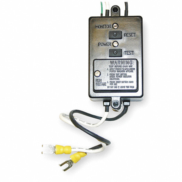 Cep 20 amp automatic reset gfci module 125 250vac 12 awg for Wire size for 125 amp service