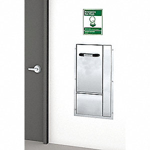 ADA Eye/Face Wash Station,Recessed,SS