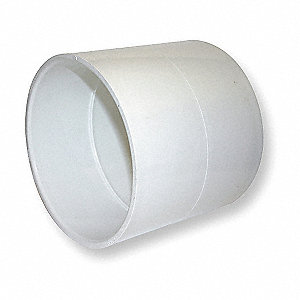 "PVC Coupling, Hub, 8"" Pipe Size - Pipe Fitting"