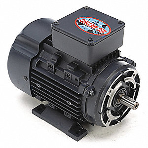 3/4 HP Metric Motor,3-Phase,3455 Nameplate RPM,230/460 Voltage,Frame D71C
