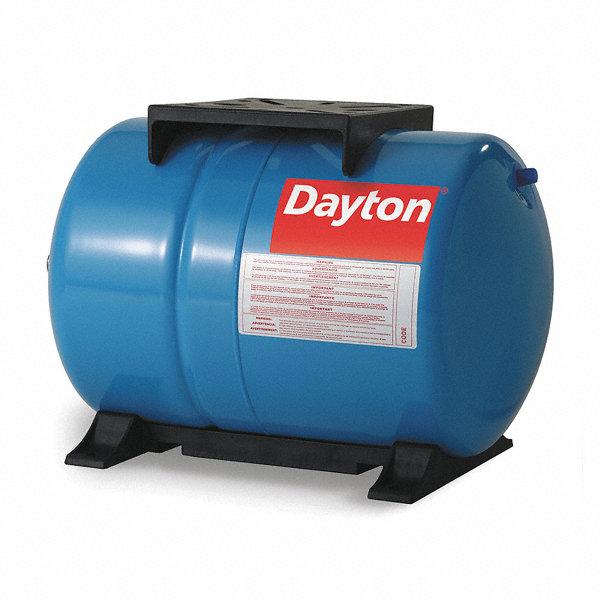 Dayton 5 3 Gal Water Tank Horizontal Precharged Type