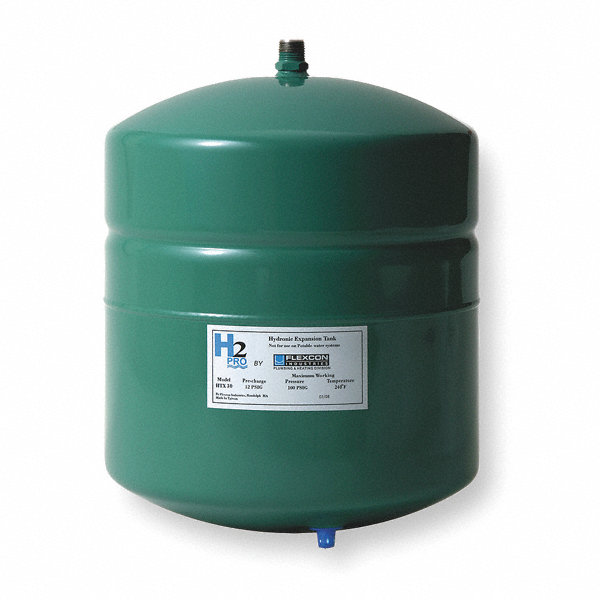 Inline Expansion Tank : Flexcon gal expansion tank inline hydronic type