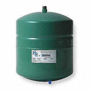 2.1 gal. Expansion Tank with Fill Valve, Inline, Hydronic Type