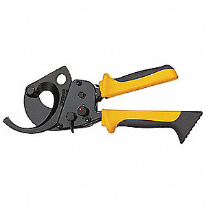 "Cable Cutter,9-3/4"" Overall Length,Shear Cut Cutting Action,Primary Application:  Electrical Cable"