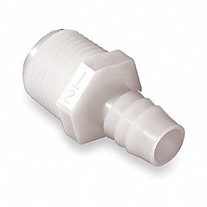 Male Adapter,3/4 x 1-1/2 In,Nylon