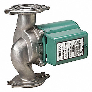 1/25 HP Stainless Steel In Line, Wet Rotor Potable Water Circulating Pump